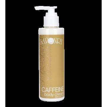 Крем для тела с кофеином и экстрактом зеленого кофе CAFFEINE, 200 мл., Савонри