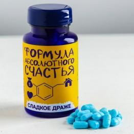 Конфеты - таблетки «Формула счастья»