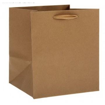 Пакет крафт 16 х 16 х 15,5 см, без печати