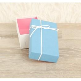 Коробка подарочная 15 х 9 х 6 см. Цвет ассорти