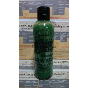 Натуральный зеленый шампунь для активизации замерших луковиц и отращивания волос в длину с клещевиной, тимьяном, лопухом и крапивой