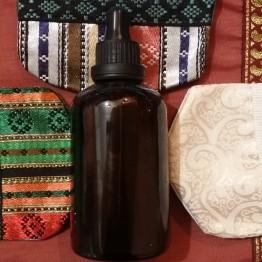 Масло Арганы обогащенное маслом листьев Усьмы сирийской