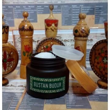 Крем-воск несмываемый для лечебного стайлинга проблемных волос с горным мёдом и протеинами шелка, 50 мл., Бустан Будур