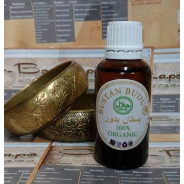 Масляно-смоляной дезодорант для тела Королевская Амбра и Драконова Кровь, 30 мл., Бустан Будур