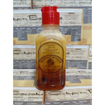 Окутывающая любовной аурой янтарная эмульсия на меду, восках и смолах омолаживающая кожу и волосы, 175 мл., Бустан Будур