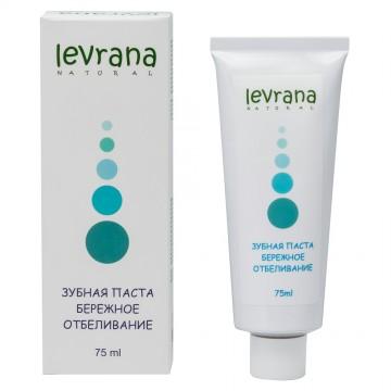 Зубная паста «Бережное отбеливание»| Levrana