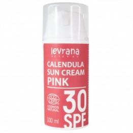 Солнцезащитный крем для лица и тела Календула 30 SPF PINK, 100 мл.
