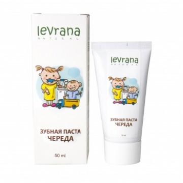 Зубная паста «Череда» с естественным вкусом, Levrana