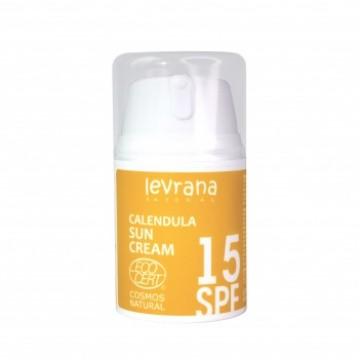 Крем Календула, солнцезащитный SPF15 (матирующий эффект), Levrana