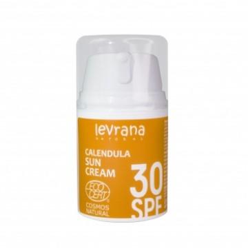 Солнцезащитный крем Календула, SPF30, levrana