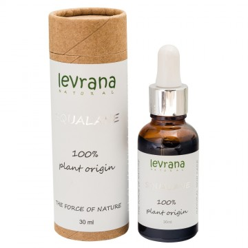 100% натуральный растительный Сквалан, Levrana